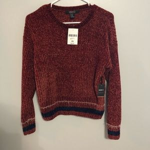 NWT Forever 21 Chenille Sweater
